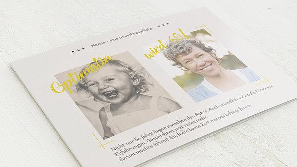 Geburtstagseinladungen - Optimist 60