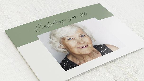 Geburtstagseinladungen - Frische Brise 80