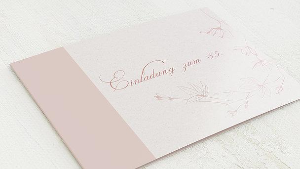 Geburtstagseinladungen - Stilblüte 85