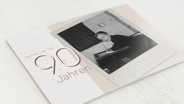 Geburtstagseinladungen - Gelungene Feier 90