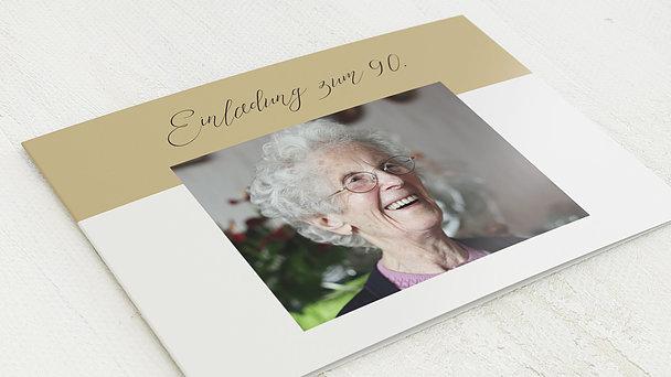 Geburtstagseinladungen - Frische Brise 90