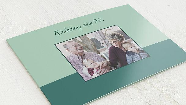 Geburtstagseinladungen - Lebensfreude 90