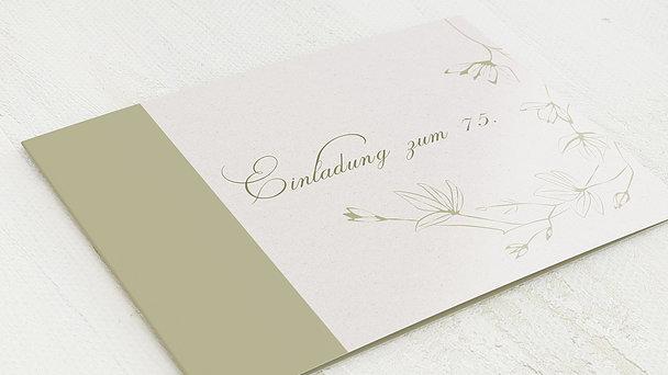 Geburtstagseinladungen - Stilblüte 75
