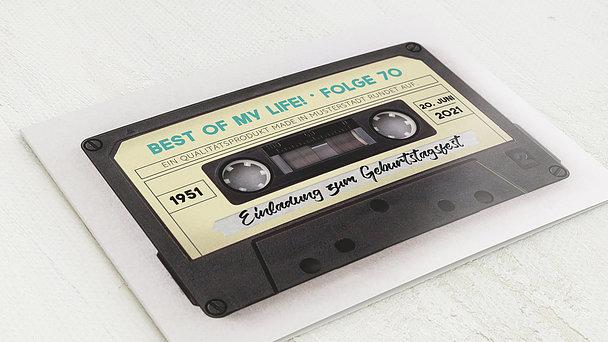 Geburtstagseinladungen - Tonträger 70