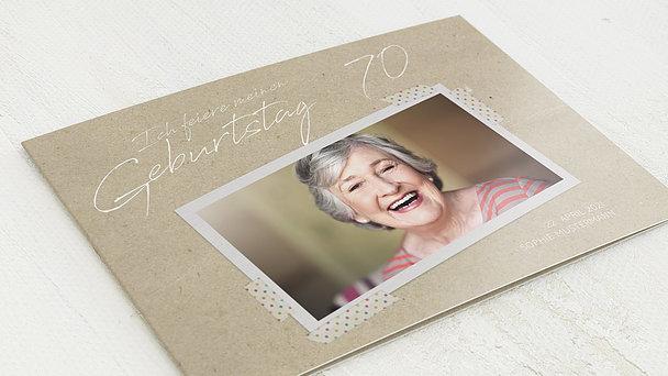 Geburtstagseinladungen - Mein neues Jahrzehnt 70