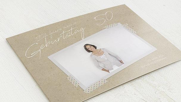 Geburtstagseinladungen - Mein neues Jahrzehnt 50