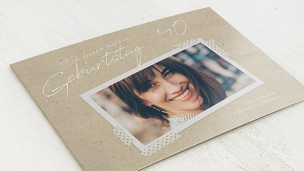 Geburtstagseinladungen - Mein neues Jahrzehnt 40