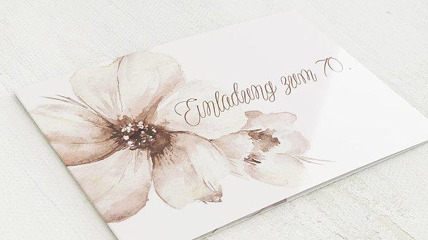 Geburtstagseinladungen - Blütenpracht 70
