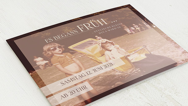 Geburtstagseinladungen - Diva 50