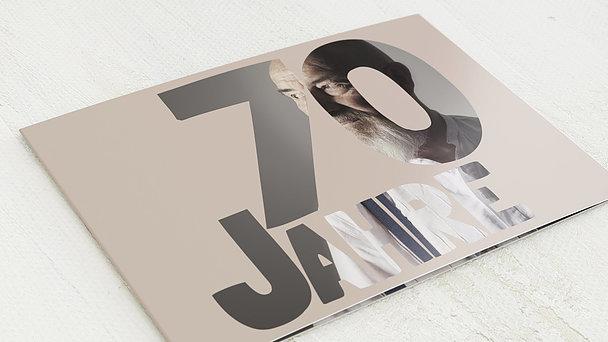 Geburtstagseinladungen - Stolze 70