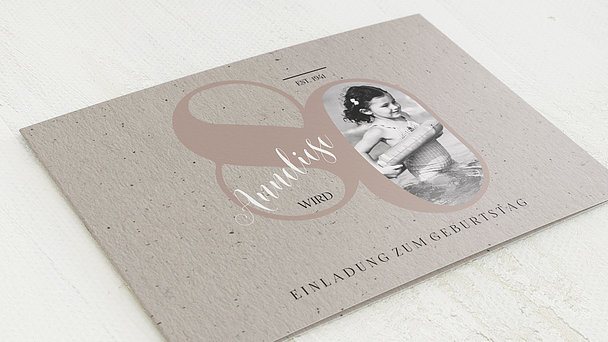 Einladungskarten Zum 80 Geburtstag Selbst Gestalten: Einladungskarten 80. Geburtstag