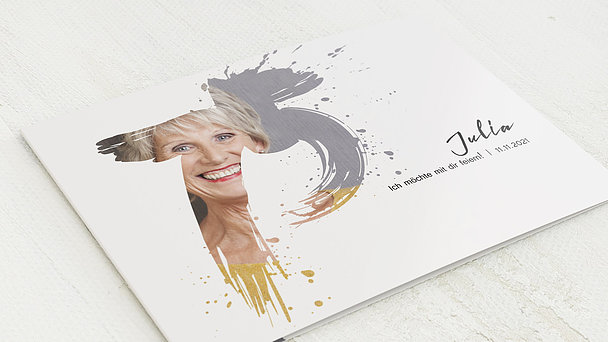 Geburtstagseinladungen - Energie 75