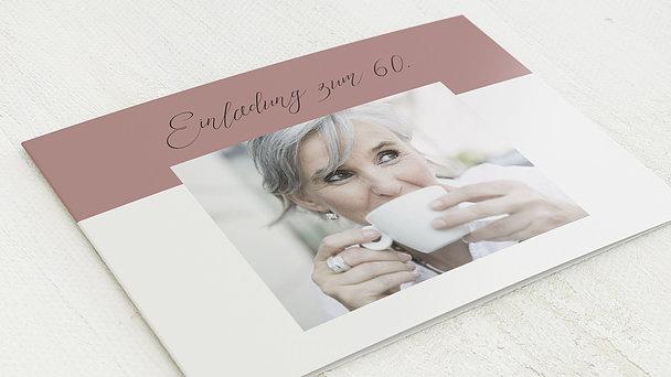 Geburtstagseinladungen - Frische Brise 60