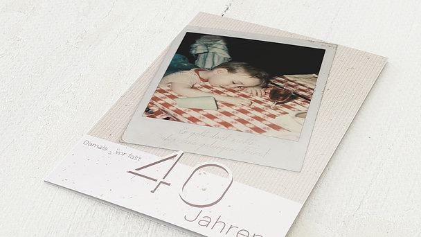 Geburtstagseinladungen - Gelungene Feier 40