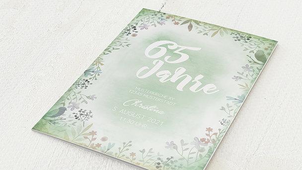 Geburtstagseinladungen - Blütenreigen 65