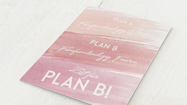 Geburtstagseinladungen - Plan B 65