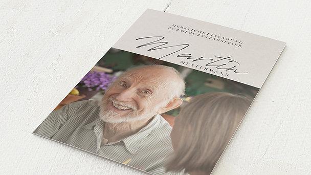 Geburtstagseinladungen - Wundervolle Jahre 90