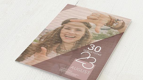Geburtstagseinladungen - Mitreissend 30