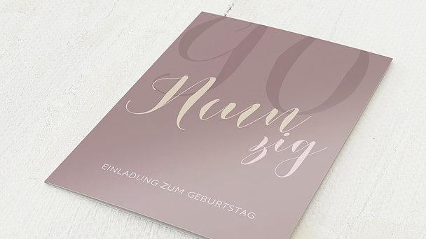 Geburtstagseinladungen - Großer Jubel 90