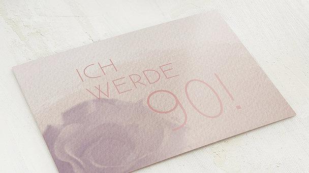 Geburtstagseinladungen - Duft des Lebens 90