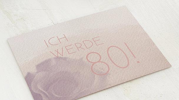 Geburtstagseinladungen - Duft des Lebens 80