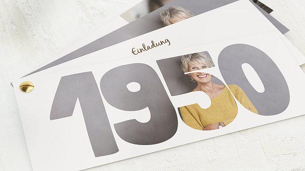 Geburtstagseinladungen - Jahrgang 1950