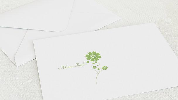 Umschlag mit Design Taufe - Täufling