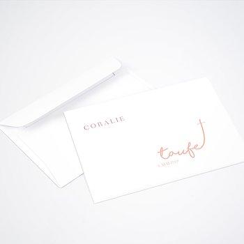Umschlag mit Design Taufe - Zeit des Segens