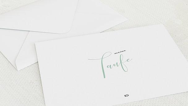 Umschlag mit Design Taufe - Meine Maße
