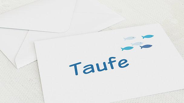 Umschlag mit Design Taufe - Guppy