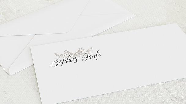 Umschlag mit Design Taufe - Sanft & Geborgen