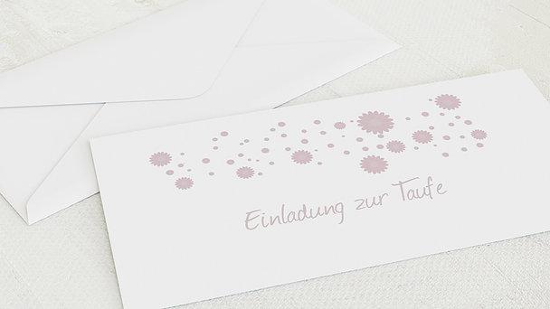 Umschlag mit Design Taufe - Fee