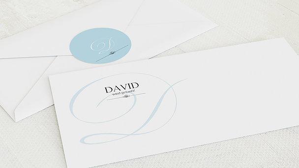 Umschlag mit Design Taufe - Cocotte