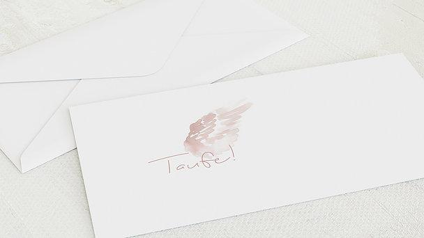 Umschlag mit Design Taufe - Unser Engel