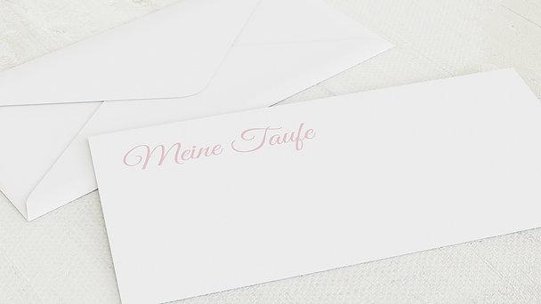 Umschlag mit Design Taufe - Taufcollage