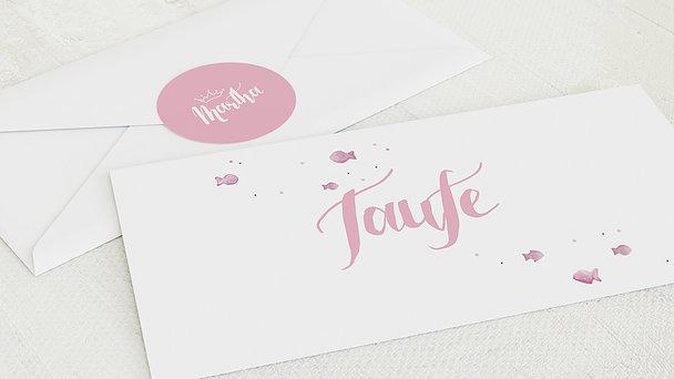 Umschlag mit Design Taufe - Symbolhaft