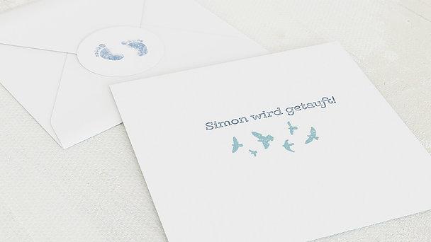 Umschlag mit Design Taufe - Erster Gruß