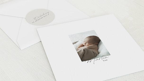Umschlag mit Design Taufe - Kleines Wunder