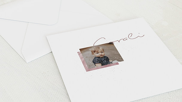 Umschlag mit Design Taufe - Milky Way Baby