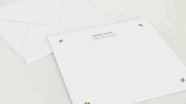 Umschlag mit Design Taufe - Süße Post