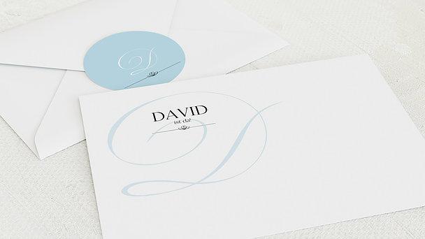 Umschlag mit Design  Baby - Cocotte