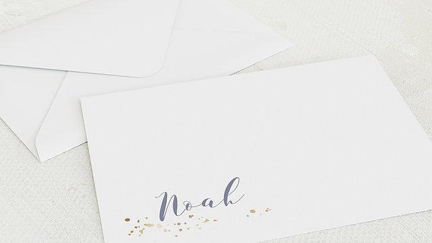 Umschlag mit Design  Baby - Sternenhimmel
