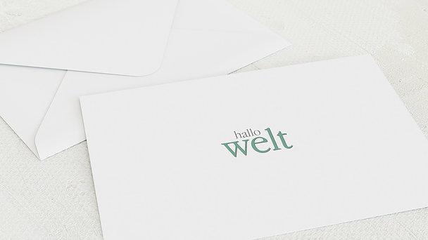 Umschlag mit Design  Baby - Willkommen