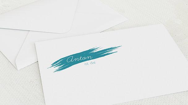 Umschlag mit Design  Baby - Freude