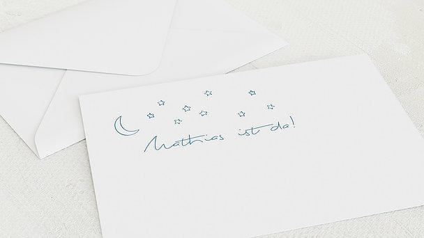 Umschlag mit Design  Baby - Sternlein