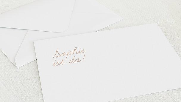Umschlag mit Design  Baby - Einfach & Simple