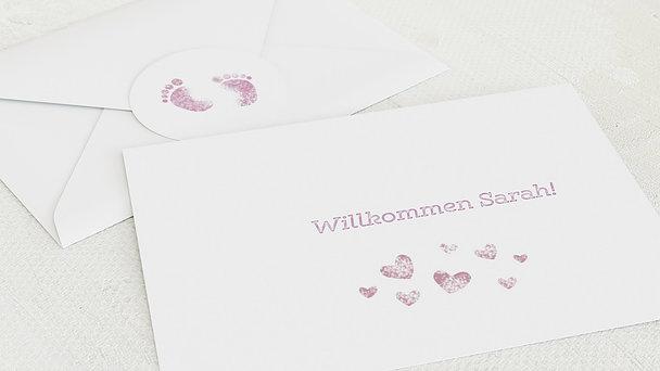 Umschlag mit Design  Baby - Erster Gruß