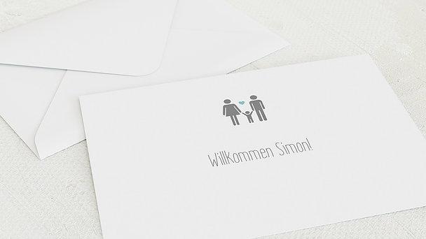 Umschlag mit Design  Baby - Liebesgeschichte