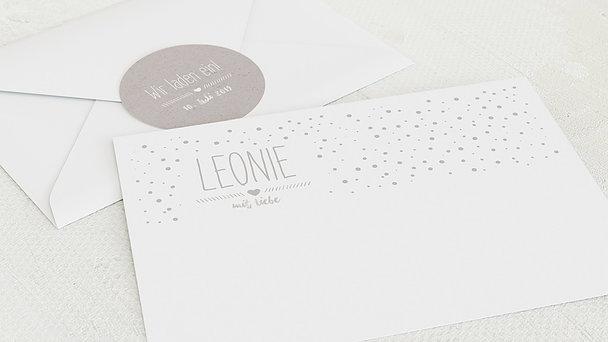 Umschlag mit Design  Baby - Mit Liebe