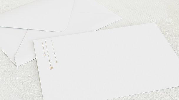 Umschlag mit Design  Baby - Mein Sternchen